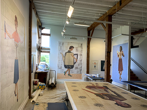 Sam and Adele Golden Gallery @ the Golden Foundation, Made in Paint 2020 exhibition - catalog available now & in-person and online exhibition formats coming soon