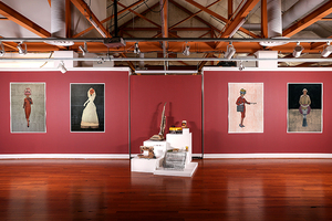 New Work from Hall of Portraits from The History of Machines at Workhouse Art Center (Lorton, VA)  March 20 - June 6, 2021
